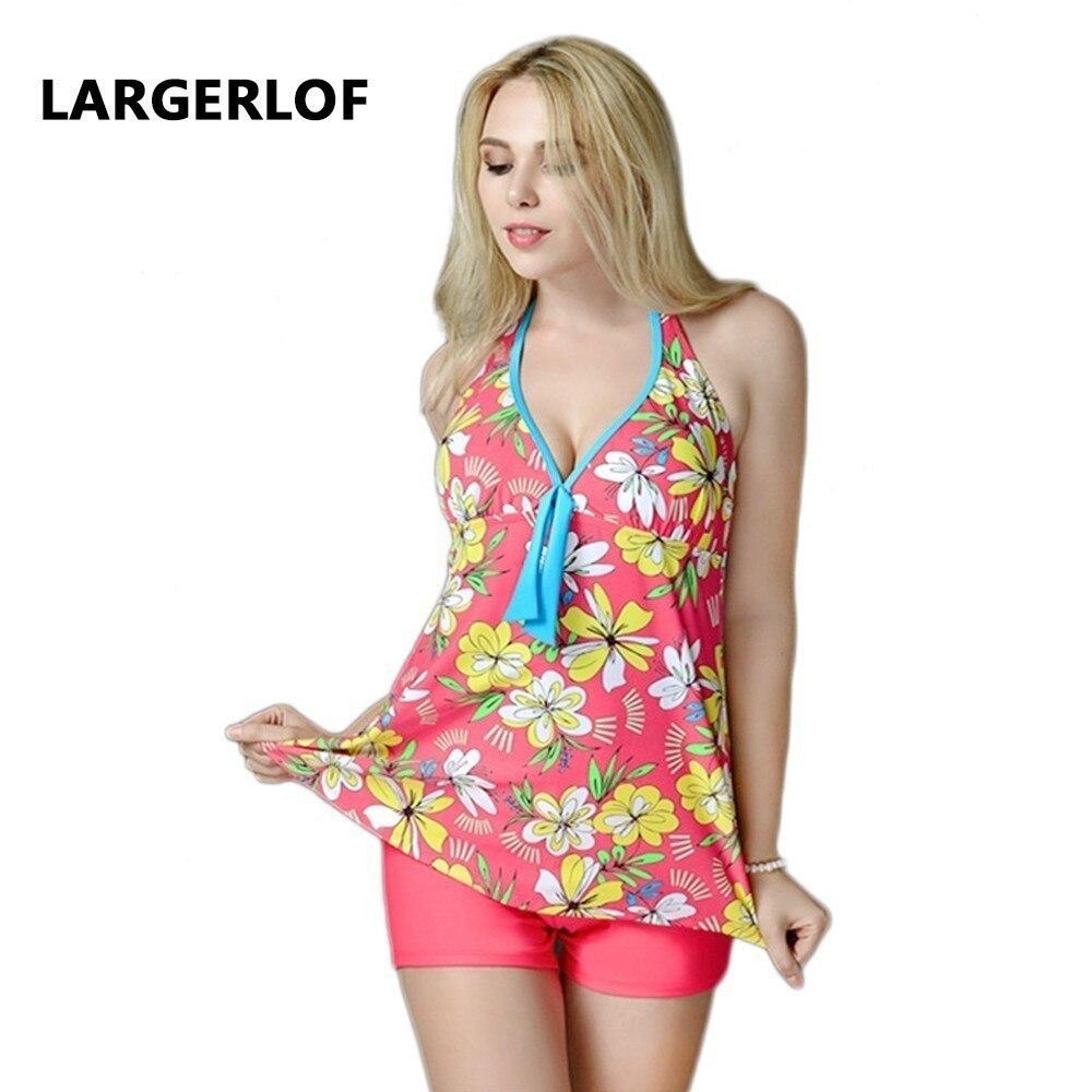 Maillots de bain femmes grande taille Bandage Bikini natation costume femmes imprimer Bandage Bikini deux pièces maillot de bain baigneur 2018 BK50019