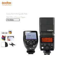 In Stock Godox V350s Sppedlite Flashes TTL HSS Function For Sony Cameras+Xpro-s Godox Cameras Triggers Wireless 1/8000s HSS