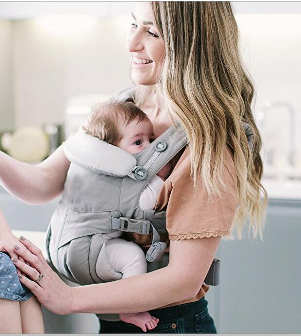 360 omni Four Position ergonomic Organic cotton baby carrier Portable Multifunctional kid carriage wrap Adjustable Baby Sling