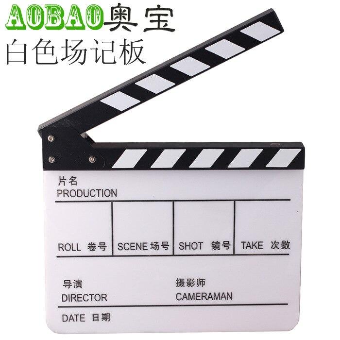 Adearstudio Movie Black/White Clapper Board/clapboard CD50 encore movie partners sing broadway cd