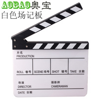 Adearstudio Movie Black/White Clapper Board/clapboard CD50