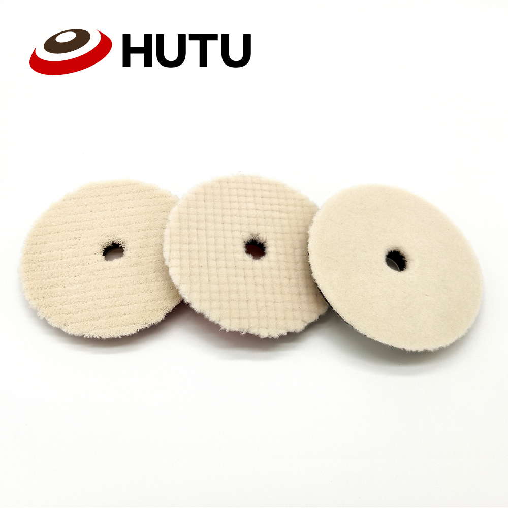 6inch Japan Polishing Pad Protective Foam Padding Light Cutting Car Polish Wool Pad