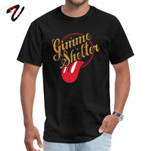 Gimme Shelter T shirts T-shirts Dominant Ussr Sleeve Custom All Mexican Crew Neck Mens Shirt Geek Tops Tees Summer