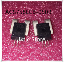 10PCS/LOT ACS758LCB-050B ACS758LCB-050B-PFF-T ACS758 ACS758LCB CB-5 SENSOR CURRENT 50A 5V