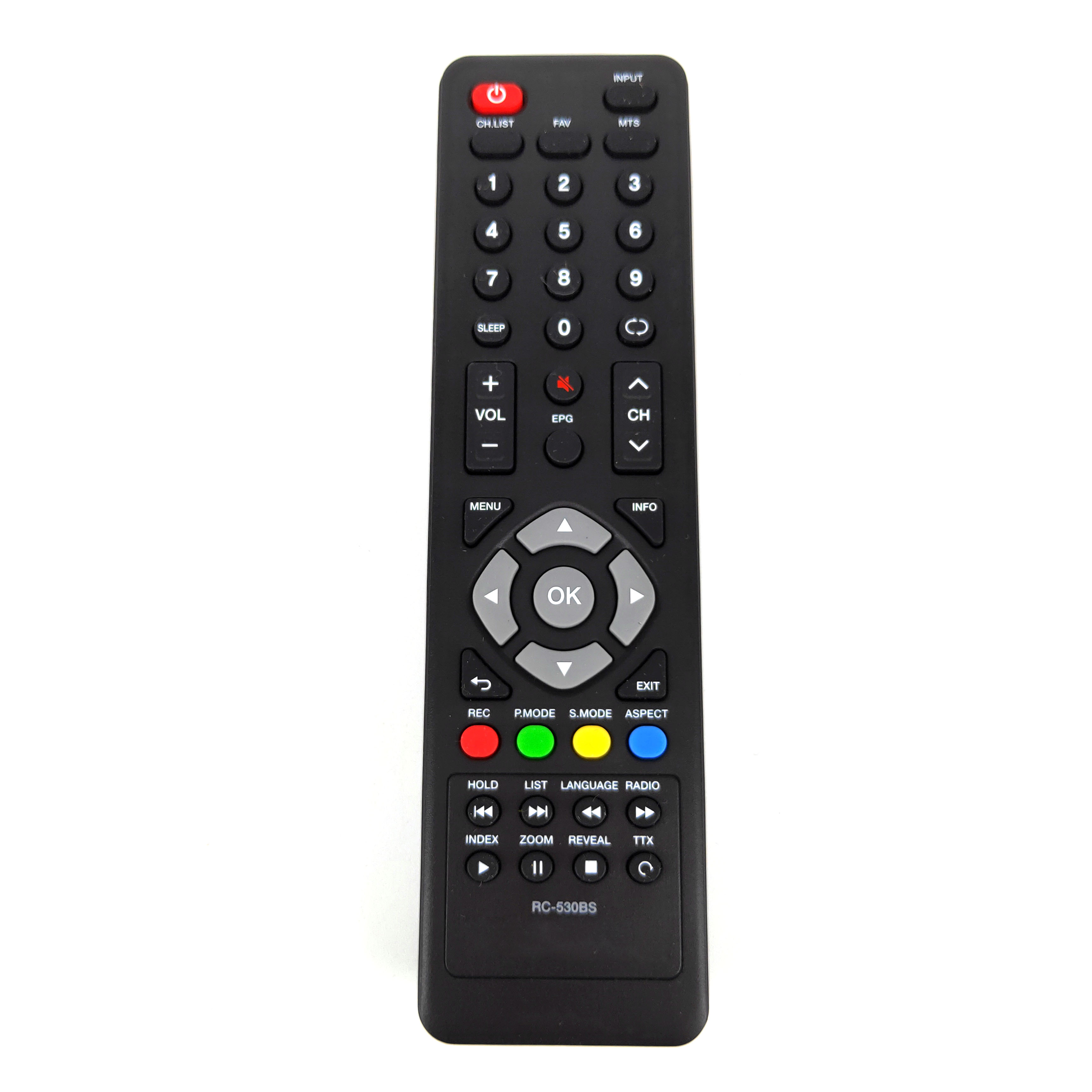 Nowy oryginalny dla obsługi Daewoo LCD/LED TV pilot zdalnego sterowania RC-530BS dla L49S650VHE L43T670VGE L43S650VHE L43S645VTE L40S645VTE L40R640VT