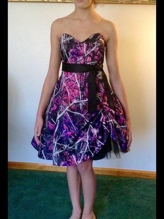 knee length muddy girl camo   cocktail     dresses   2019 short party   dress   vestido de festa free shipping