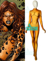 Free Shipping 3D Printed Wonder Woman 1984 Possible Cheetah Cosplay Costume Girls Superhero Costume Tight Catsuit Bodysuit