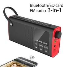Avantree Portable Haut-Parleur 3-en-1 Bluetooth FM Radio SD Carte Lecteur En Plein Air Intérieur Un Seul Clic Entrée Remplaçable Battery-SP850
