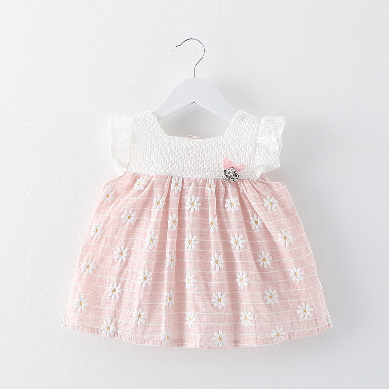 Подробнее о 2016 summer Baby Girl Dresses Princess Children flower Dress baby clothing Kids Dress Brand Girls baby Clothes Costumes baby girls dresses brand princess dress girl clothes kids dresses children costumes 3 14 years old