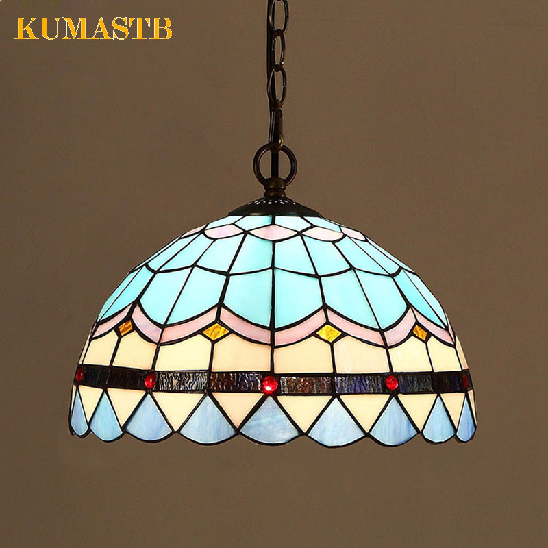 Mediterranean Minimalist Pendant Lamp European Style Luminaria Pendente Creative Aisle Balcony Bedroom Restaurant Chandelier window decor roman pastoral style sheer tulle curtain
