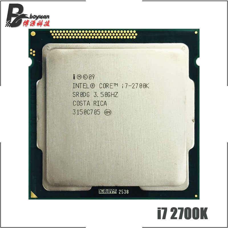 Intel Core i7-2700K I7 2700 K 3.5 GHz Quad-Core Processor 8 M 95 W LGA 1155