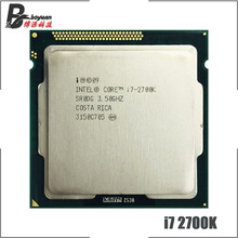 Intel Core i7 2700K i7 2700 K 3.5 GHz Quad Core מעבד מעבד 8 M 95 W LGA 1155