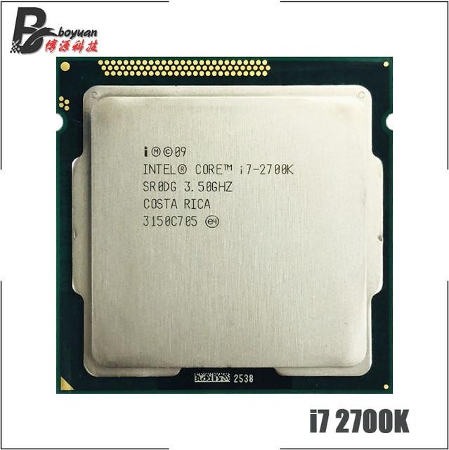 Intel Core i7 2700K i7 2700 K 3.5 GHz Quad Core CPU Processor 8 M 95 W LGA 1155