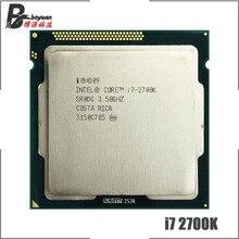 إنتل كور i7 2700K i7 2700K 3.5 GHz رباعية النواة معالج وحدة المعالجة المركزية 8M 95 واط LGA 1155