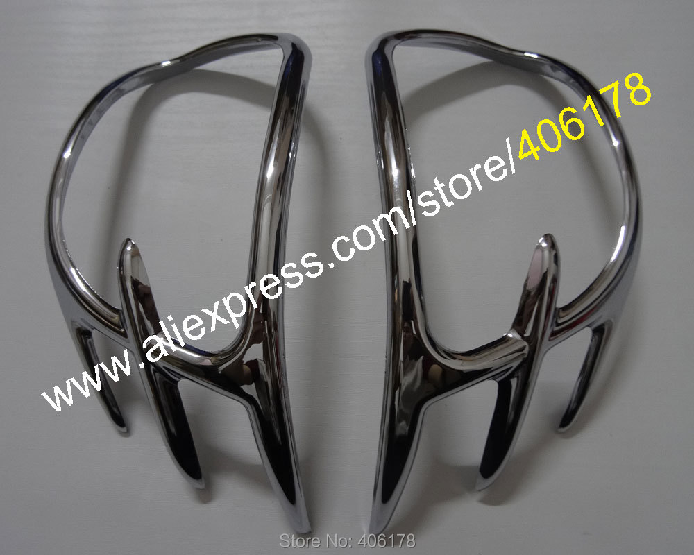 Hot Sales,Goldwing GL1800 Chrome Parts For Honda Gold Wing GL 1800 2001-2011 Mirror Back Accent Grilles Garnish Motorbike Cover