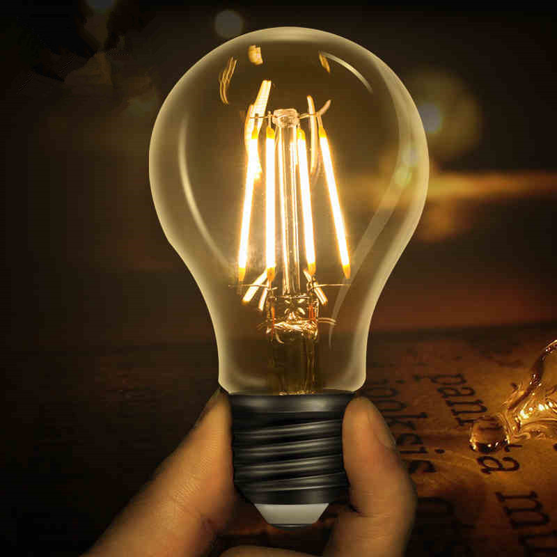 LED Edison Bulb E27 Retro Lamps 220V 240V Filament Light E14 Glass Ball Bombillas Candle Light 2W 4W 6W 8W For Home Decor 5pcs e27 led bulb 2w 4w 6w vintage cold white warm white edison lamp g45 led filament decorative bulb ac 220v 240v