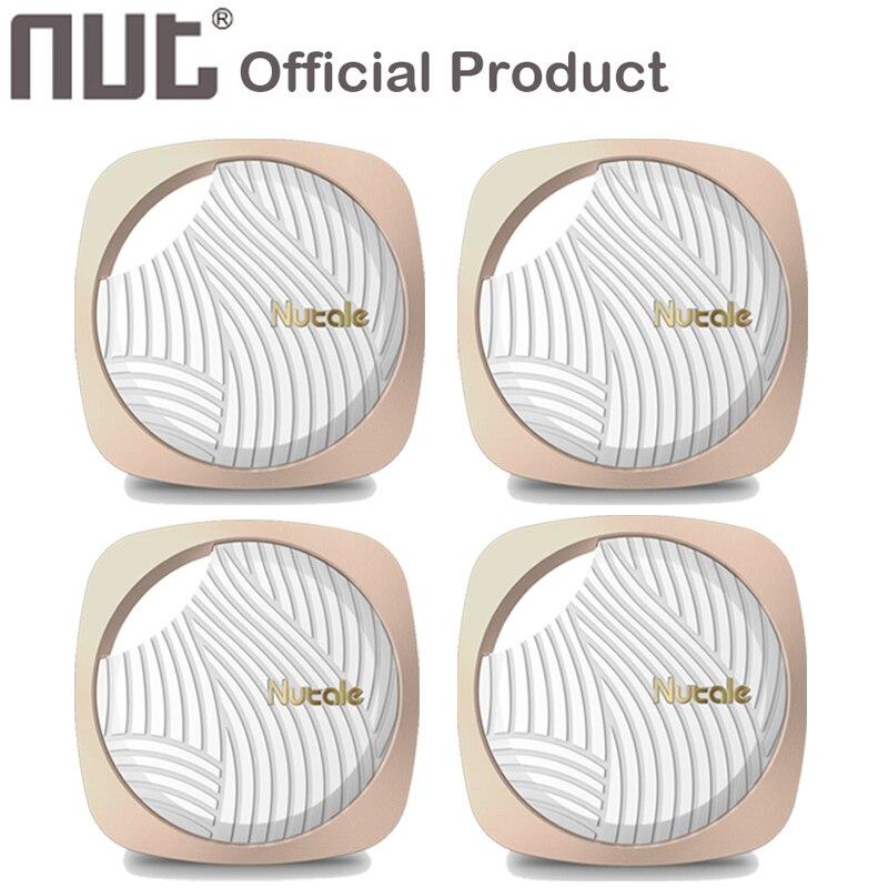 4 pièces ÉCROU Nutale Focus F9 2 3 Mini Itag Intelligent Détecteur de clé Bluetooth Tracker Anti Perdu Rappel Pet Portefeuille Téléphone Finder pour téléphone