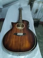 free shipping best quality left handed 12 string acoustic electric guitar lefty 12 string jumbo koa guitars