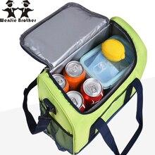 16L Водонепроницаемый сумка для обеда сумка-холодильник для стейка изоляции Термальность сумка Сгущает складной свежие изолирующий пакет для льда
