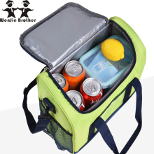 New 16L Waterproof Lunch Bag Cooler for Steak Insulation Thermal Thicken Folding Fresh Keeping Ice Pack