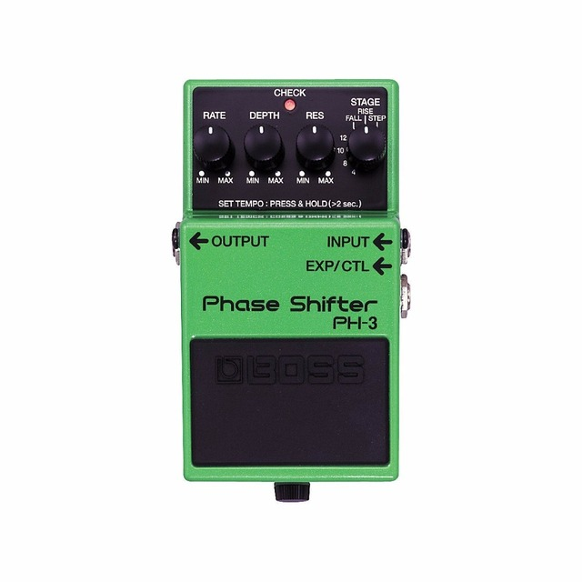 Boss Audio PH-3 Phase Shifter Pedal for Guitar/Bass with Free Bonus Pedal Case