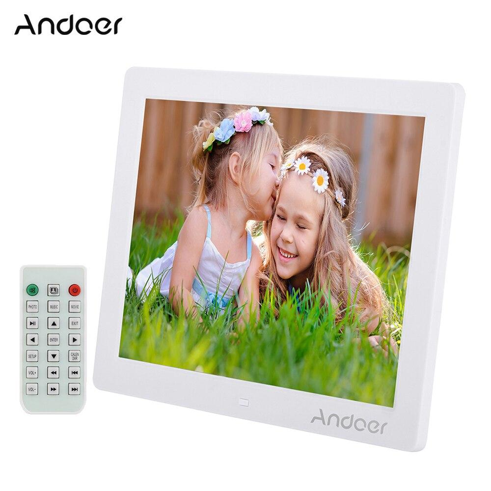 Andoer 12 HD LED Digital Photo Frame 800 600 Picture Frame MP4 MP3 Movie Player E