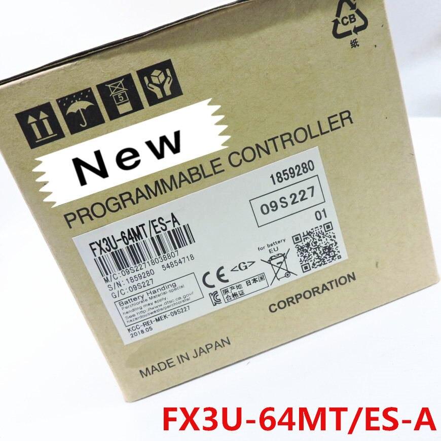 1 year warranty New original In box FX3U 48MR ES A FX3U 48MT ES A FX3U