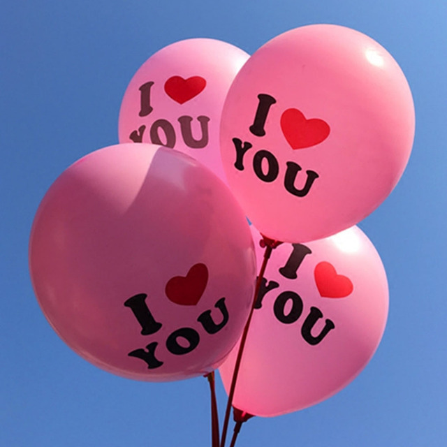 Good Sale Delicate 12 Inch Pearl Latex Balloon I Love You Balloons