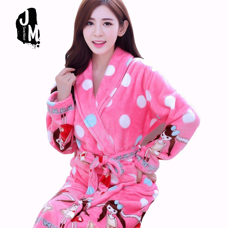 Ladies Men Long Bathrobe Women flower Flannel Kimono cotton Robe Bridal Wedding Bridesmaid Robes Dressing Gown Peignoir Badjas