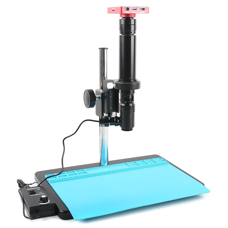 37MP 1080P HDMI USB Digital Industrial Video Microscope Camera 400X 800X 1000X 1400X Coaxial Light Optics