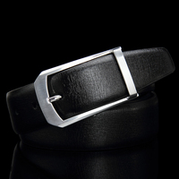 Luxury Brand Belt Mens Fashion High Quality Cowskin Genuine Leather Belt For Men Waist Belts With