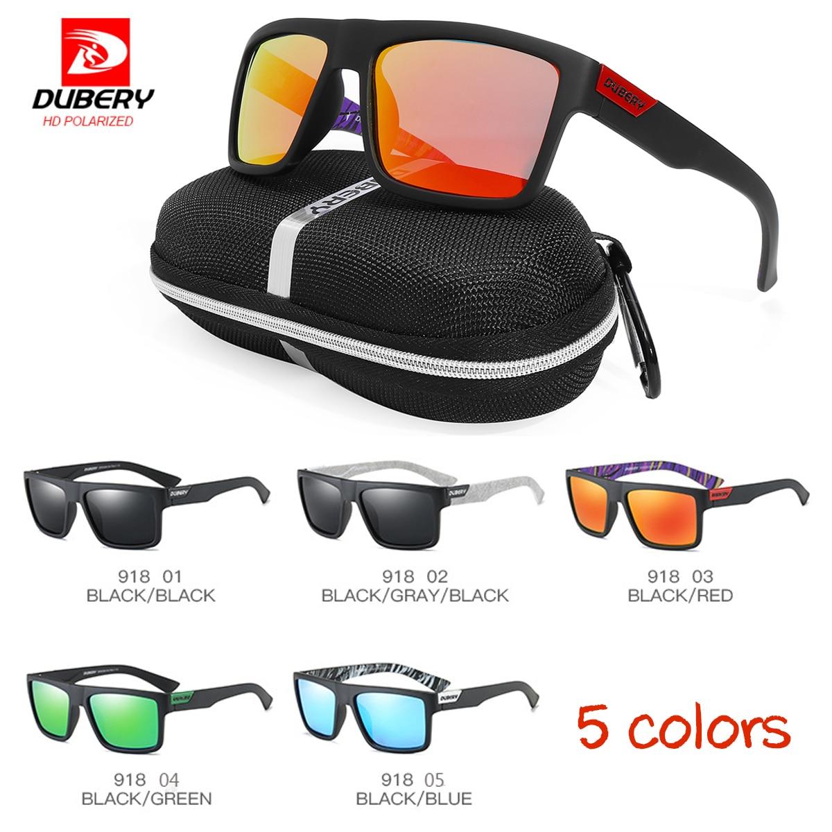 9054cf5fb7 Hombres deportes polarizadas gafas de sol Anti-reflejo UV400 ciclismo gafas  de conducción al aire