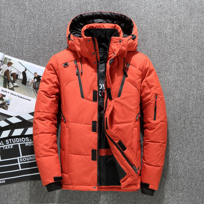 High Quality 90% white duck thick down jacket men coat Snow parkas male Warm Brand Clothing winter Down Jacket Outerwear(China)