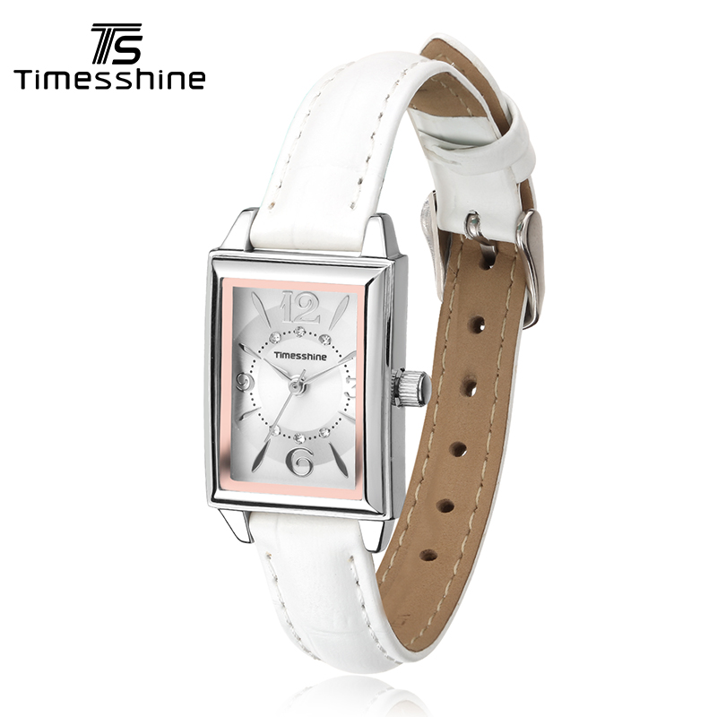 Timesshine Women's Wristwatches Elegant Retro Watches Women Quartz Watch Casual Genuine Leather Strap Clock For Ladies FW02 timesshine women s wristwatches elegant retro watches women quartz watch casual genuine leather strap clock for ladies fw02