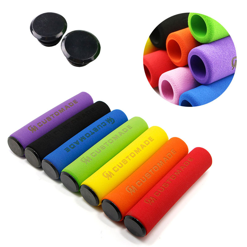 1Pair Soft Foam Sponge bmx mtb Bike Cycle Bicycle Handle Handlebar Bar Grips Bicycle Grip