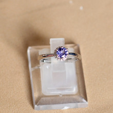 S925 silver jewelry wholesale simple natural  ring Ms.