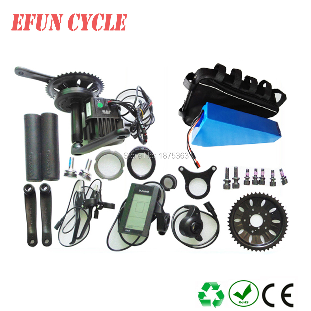 BAFANG BBSHD 42T 48V 1000W central crank motor kits+48V 30Ah trianle battery down tube battery pack with triangle bagBAFANG BBSHD 42T 48V 1000W central crank motor kits+48V 30Ah trianle battery down tube battery pack with triangle bag