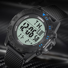Mens Watches Top Brand Luxury Army Military Digital Watch Men Outdoor 30M Waterproof Auto Date Alarm LED Watch Relogio Masculino infantry military watch led digital wristwatch mens watches top brand luxury aviator army sport black silicone relogio masculino