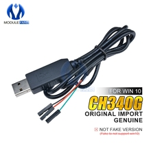 Original CH340G CH340 Download Line Cable USB to TTL Serial Wire Adapter Compatible WIN7/8/10 For Arduino 51 Raspberry Pi