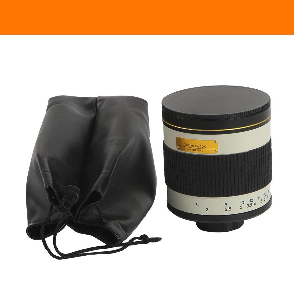 Lente espejo teleobjetivo F / 6.3 de 500 mm + anillo adaptador de - Cámara y foto - foto 6