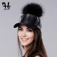 Furtalk 2017 New Brand Cap Womens Baseball Cap Fitted Hats Casual Caps Pom Pom Hat Hip