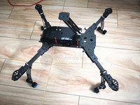 DIY FPV drones DH410 pro FPV folding 3K pure carbon quadcopter frame with landing gear DH410 upgrade