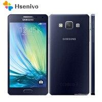 100% Original Unlocked Samsung Galaxy A5 A5000 A500F LTE Cell phones 5.0 Quad core 13MP 2GB RAM 16GB ROM Refurbished