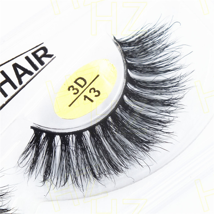 False Fake Mink Curling Eyelashes For Building Halloween Eyelash