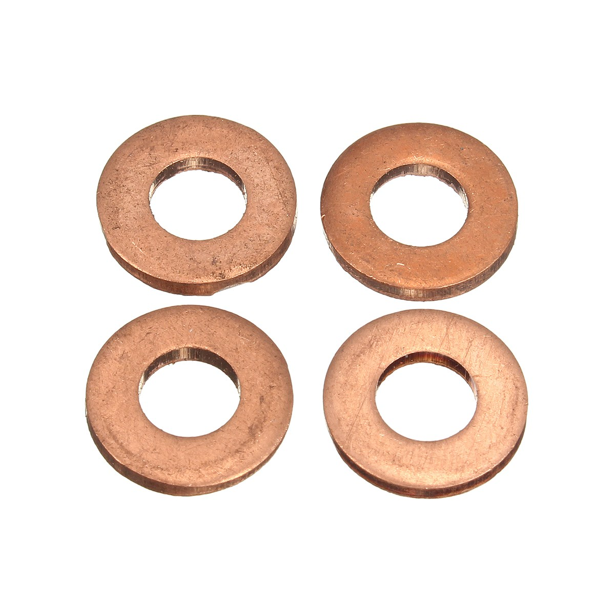 Pcs common injector nozzle washer seal copper for ford