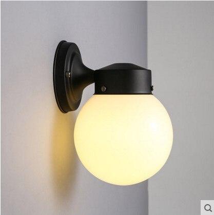 <font><b>Aplik</b></font> современный светодиодный светильник настенный с Стекло абажур Внутреннее освещение Бра arandela Lampara сравнению