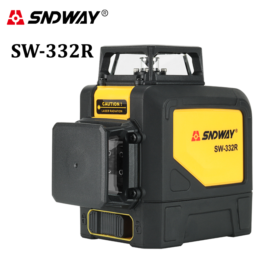 laser level Self leveling 8 lines Green Red beam Rotary 360 Cross Vertical Horizontal Construction Tools measuring instruments