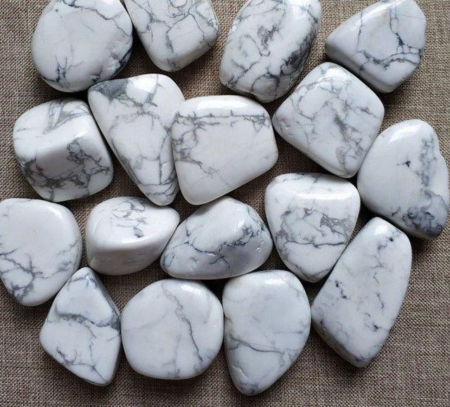 Wonderbaarlijk Groothandel 100g Natuurlijke Witte Turquoise Grind Rock Ruwe Steen IT-21