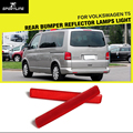 T5 Commercial vehicles 2PCS/SET ABS Rear Bumper Reflector Lamps Light for VW T5 OEM 7E0 945 105/106