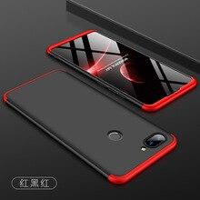 For Xiaomi Mi 8 Lite Case Hard 3 in 1 Ma